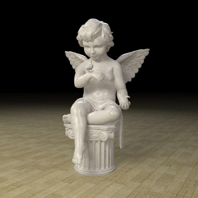 angel statue max