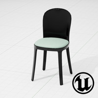 fbx unreal magis vanity chair