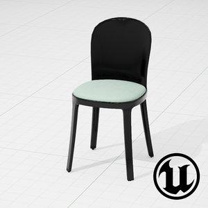 fbx unreal magis vanity chair