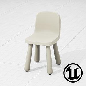 unreal magis chair ue4 3d model