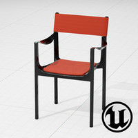 unreal magis venice chair 3d model