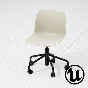 unreal magis troy chair 3d x