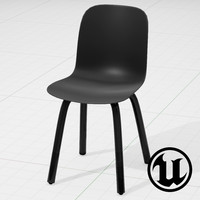 unreal magis substance chair 3d model