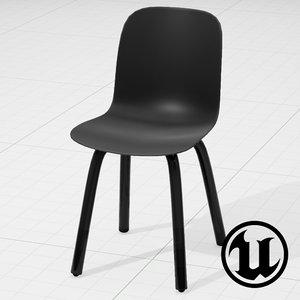 unreal magis substance chair 3d model