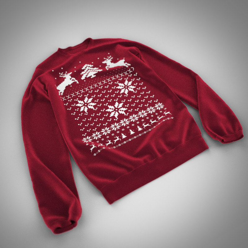 3d pullover animation