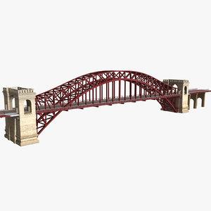 c4d hell gate bridge new york