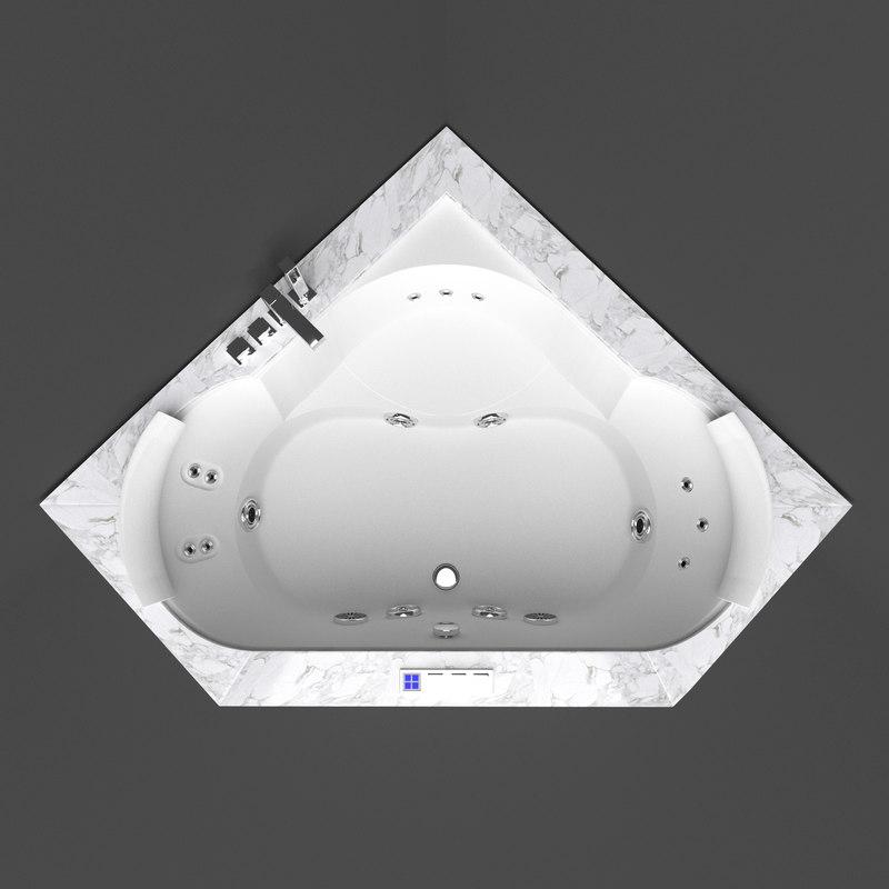 jacuzzi aura 3d model