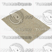 3d model of amara rug smart cream