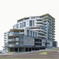 Modern Apartment Building 02