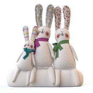 rabbits toys tilde max
