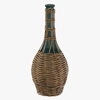3d model jug basket 03