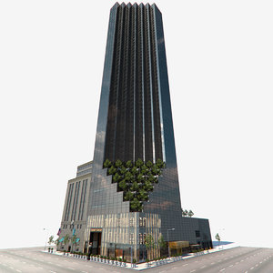 trump tower new york 3d model