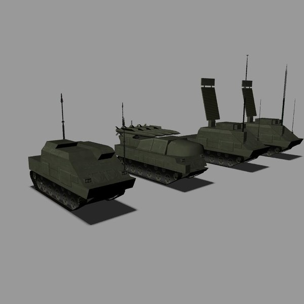 3d sa-11 gadfly buk model