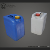 jerrycan pbr unreal 3d max