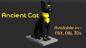 3d 3ds ancient cat