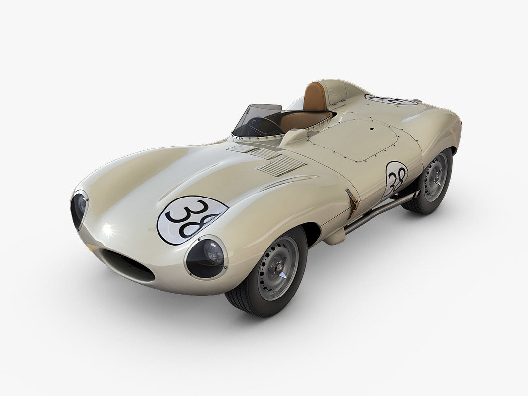 3d d-type racing