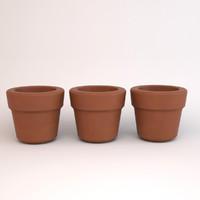 pots classic terra 3d max