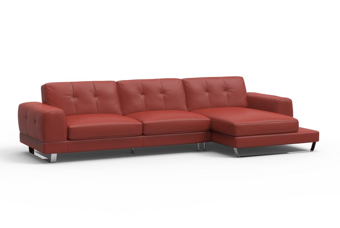 realistic savuto chaise sofa 3d model