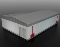 3d max hangar