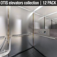 otis elevators 3ds