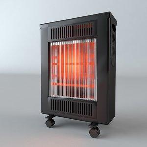 space heater c4d