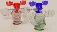 moose glass 3d model