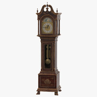 Creepy Grandfather Clock 01