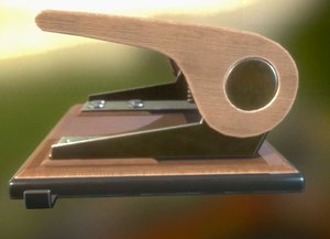 hole punch rigged wood 3ds