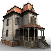 realistic bates mansion 3d 3ds