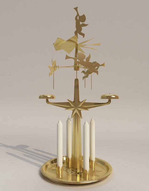 max angel chimes candle