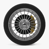 valencia disk car wheel 3d max