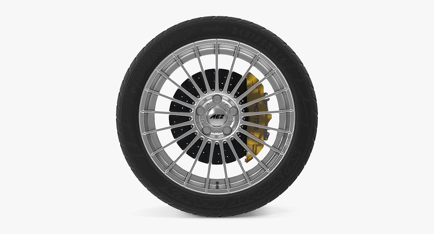 valencia disk car wheel 3d max