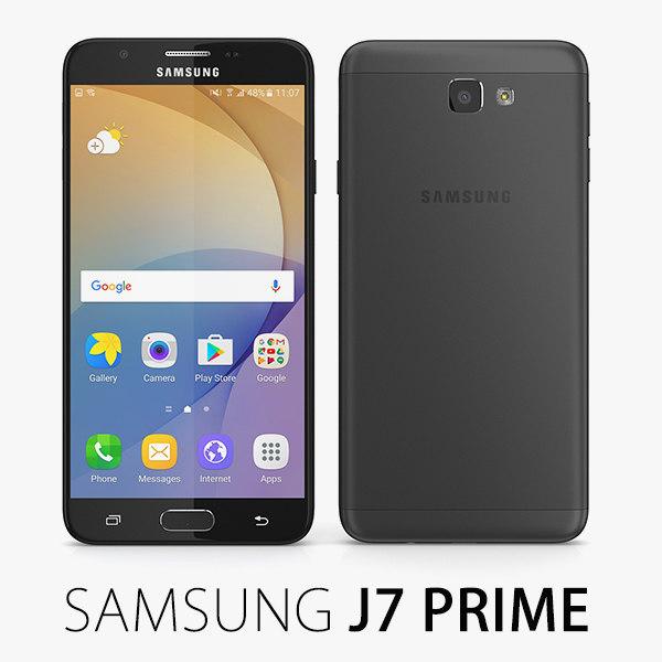 3d model samsung j7 prime