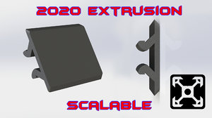 cable cover extrusion 3ds