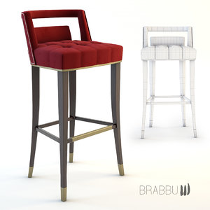 naj bar chair 3d model