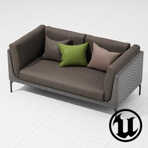 dedon sofa fbx