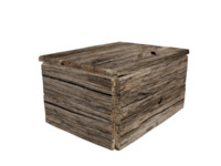 Realistic Wooden Chest