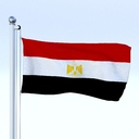 Egypt flag 3D models