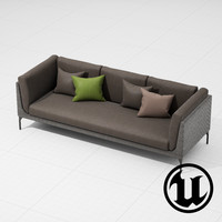 3d model dedon mu sofa ue4