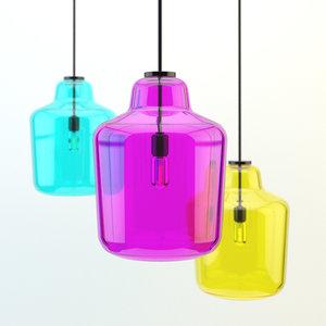 3d lamp ligt model