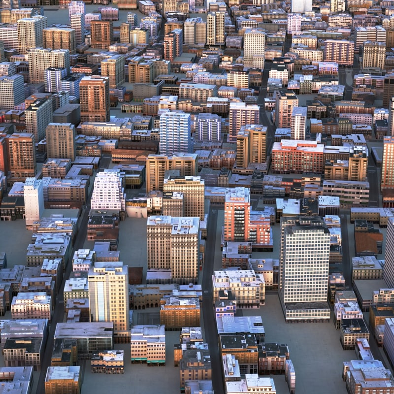 max cityscape city streets