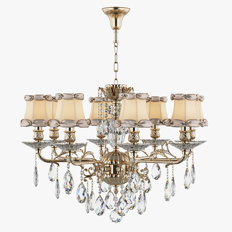 chandelier 701081 md29050 8 3d max