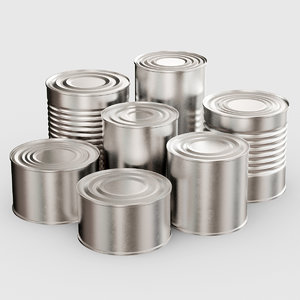 bank canned 3d max