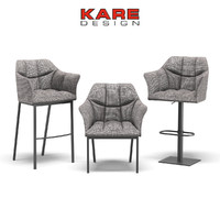 Kare Design Chair with Armrest Thinktank