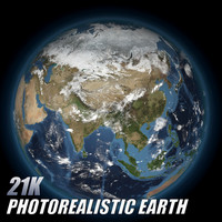 planet earth 3d max