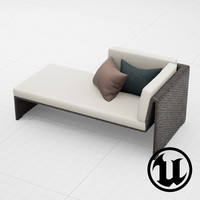 fbx dedon slimline lounge chair