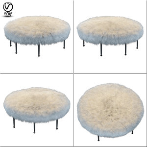 drome stool 3d model
