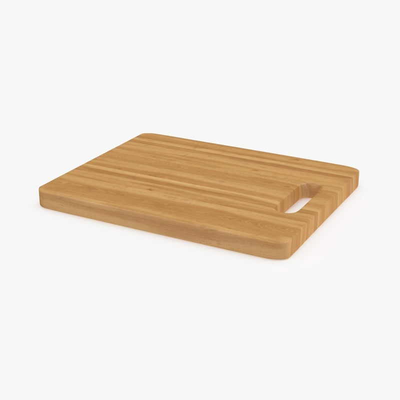 wood chopping board 02 max