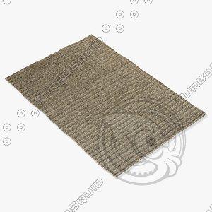 amara rug smart ds-silver 3d 3ds