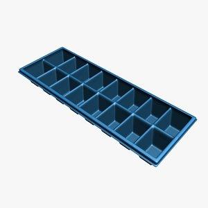 ice cube tray 3d max